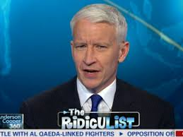 "Anderson Cooper, the host of ""Anderson Cooper 360"" show"