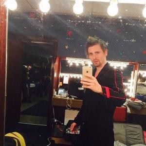 Matt Bellamy at the Glasgow show, March 16, 2015