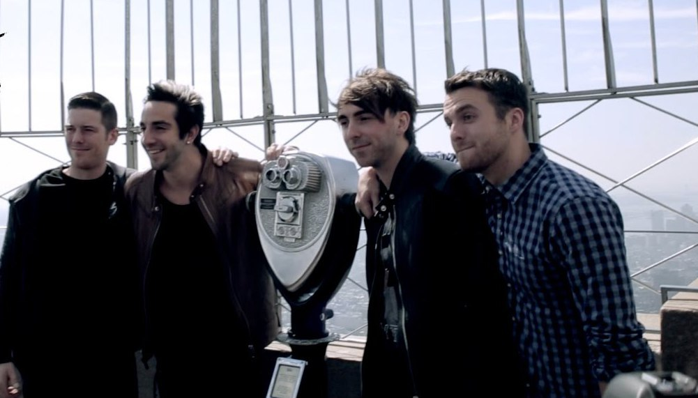 All Time Low band 2015