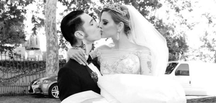 BLACK VEIL BRIDES' Andy Biersack: 'I married my best friend in the
