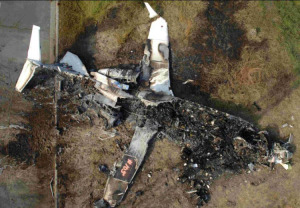 Travis Barker was one of the two survivors in a Learjet crash in September 2008.