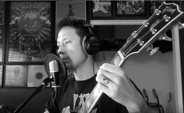 Matt Heafy Trivium cover