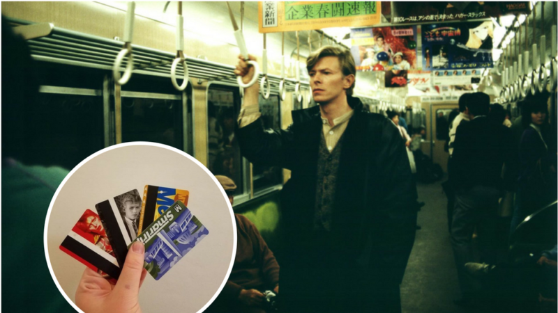 David_Bowie nyc subway
