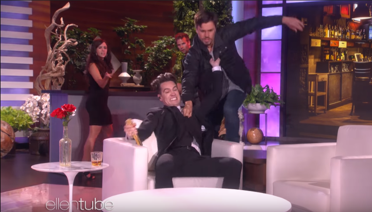 Panic! At The Disco performance on Ellen show