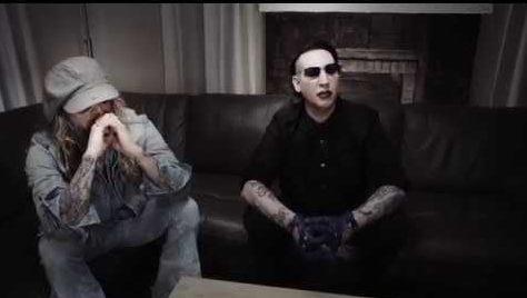 Marilyn Manson Rob Zombie