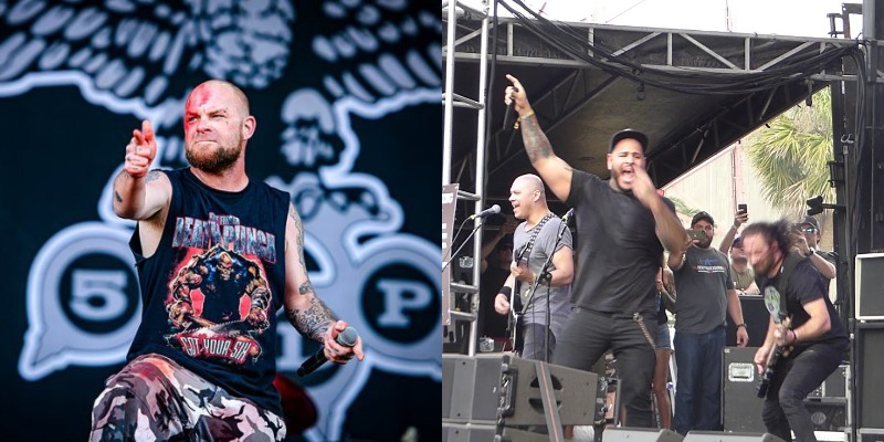 Ivan Moody Five Finger Death Punch Bad Wolves