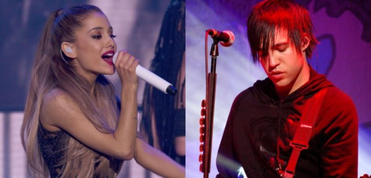 84bf76d0f2e7 Fall Out Boy s bassist Pete Wentz appreciated Ariana Grande s thinking  outside-the-box on the new album