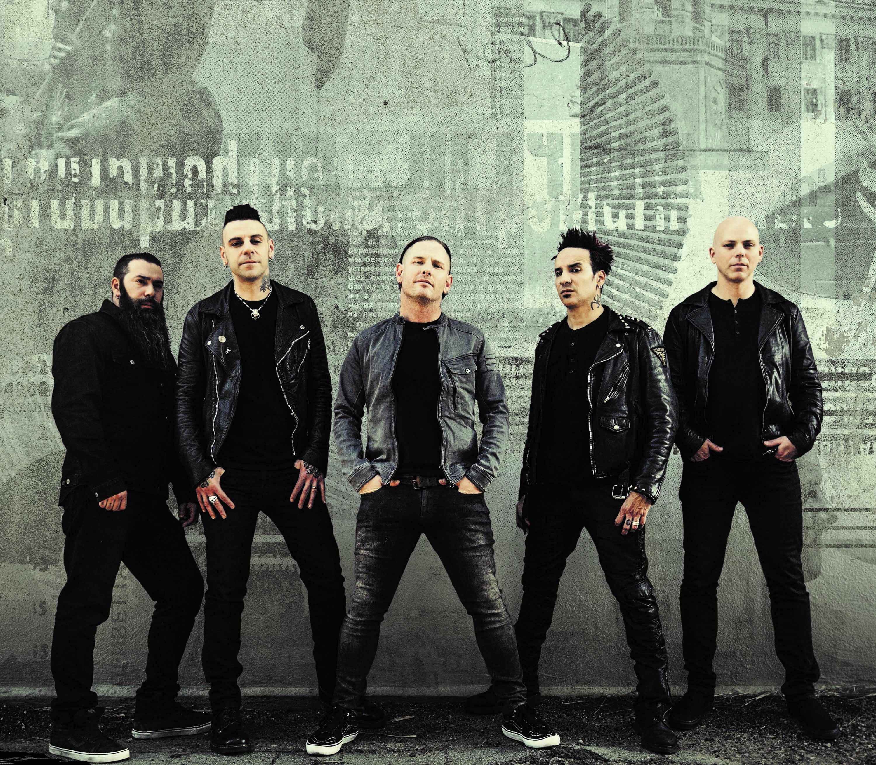 Stone Sour band 2017