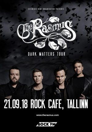 The Rasmus Dark Matters Tour Tallinn