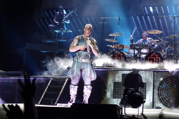 Rammstein live Arena of Nîmes