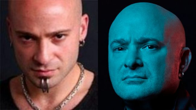 David Draiman Disturbed piercings