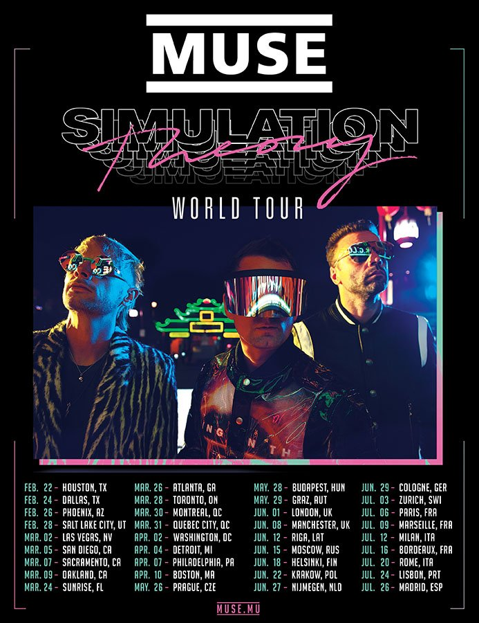 Muse Simulation Theory tour