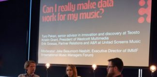 Tallinn Music Week 2019 how can musicians use music platforms data