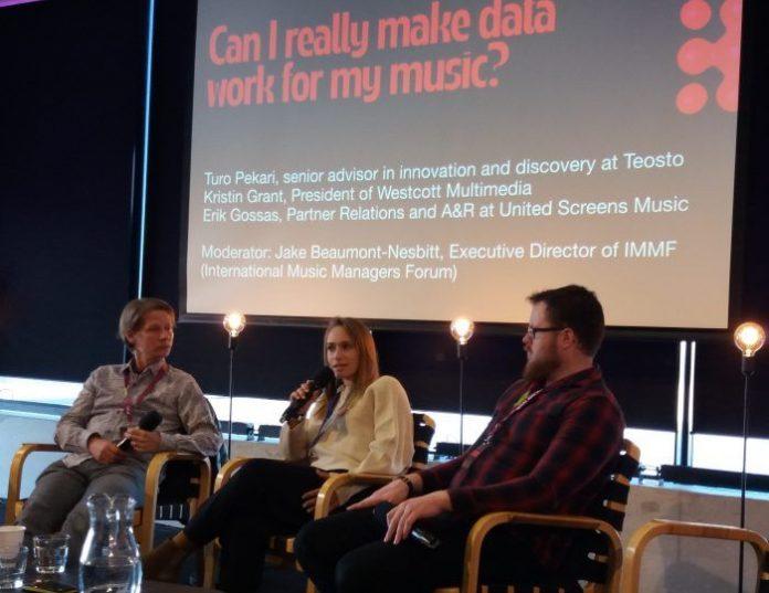 Tallinn Music Week 2019 how can musicians use music platforms data