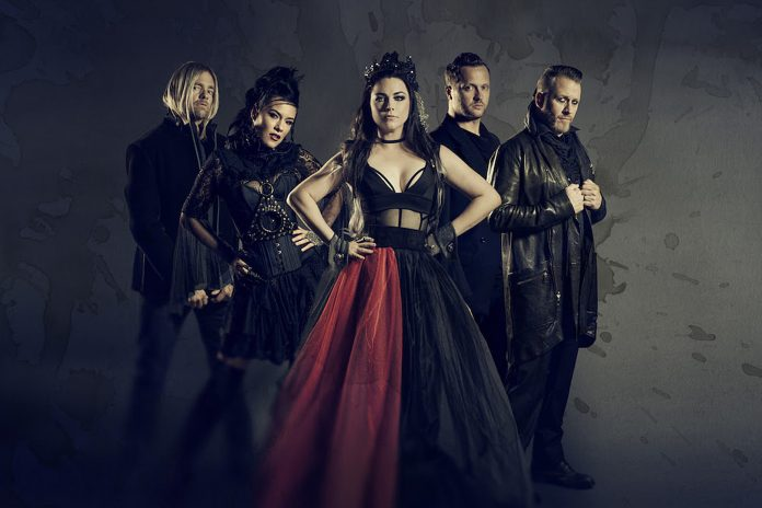 Evanescence Paul Brown band promo 2019