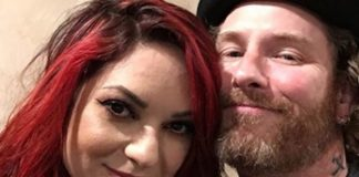 Corey Taylor Dove wedding