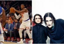 Motionless In White Knicks game