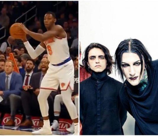 Motionless In White Knicks game