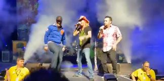 N SYNC join POISON on stage Hard Rock Hotel Hollywood