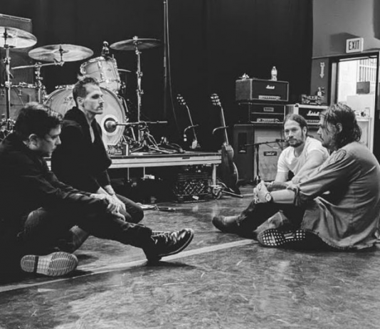 My Chemical Romance rehearsal reunion tour
