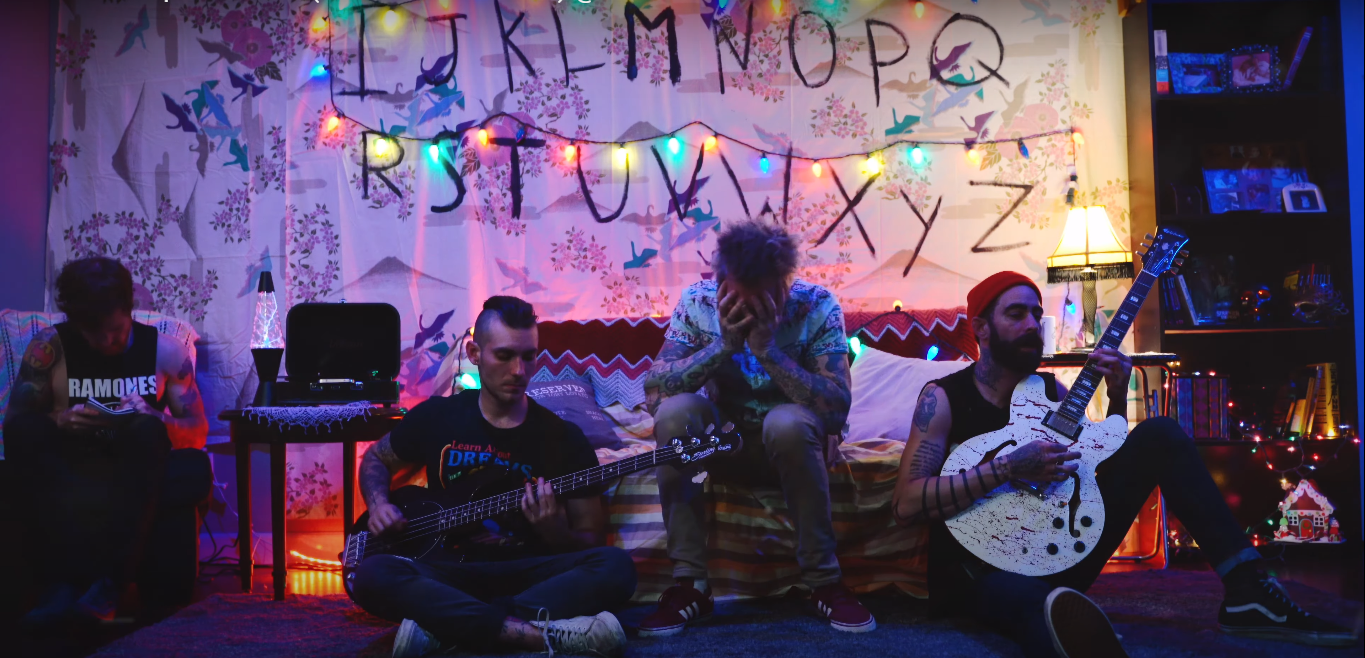 Mest Turn Out To Be Fans Of Stranger Things Watch Their Music Video For The Upside Down Alterock