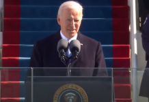 Joe Biden's inauguration 46th President speech - January 20, 2021