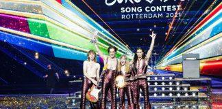 Italian glam rock band Måneskin wins Eurovision Song Contest 2021